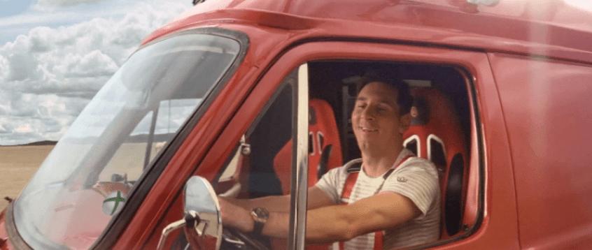 Messi dirige Van em novo comercial de Fifa 14