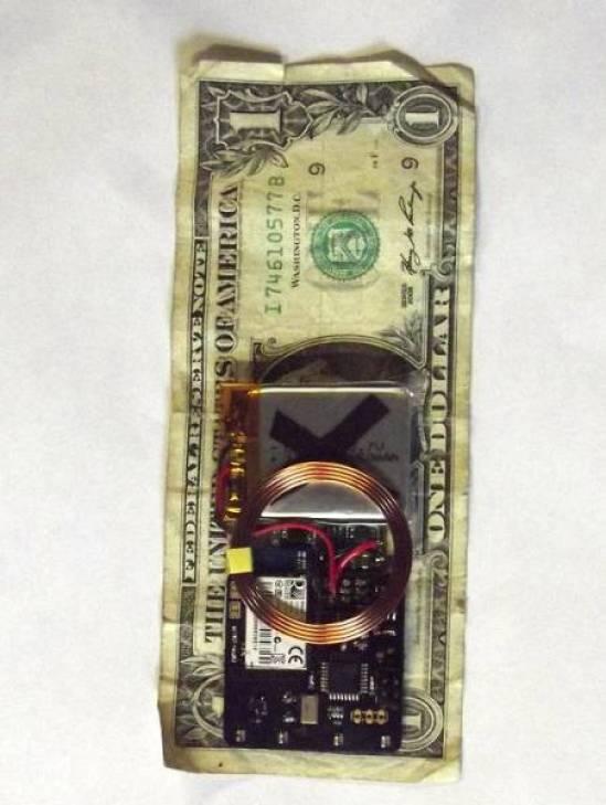 Menor do que uma nota de 1 dólar