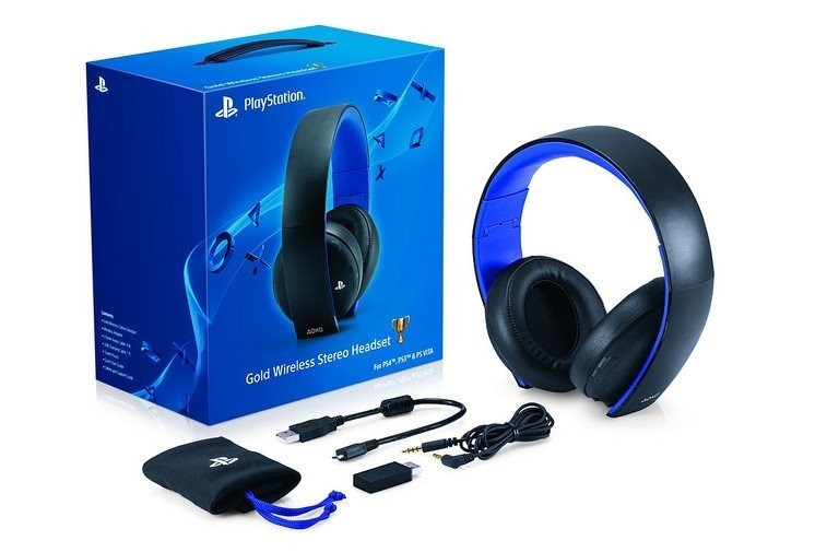 PS4Sony-Pulse Wireless Stereo Headset