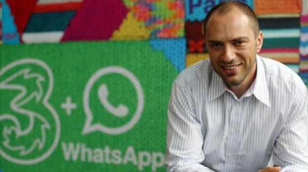 WhatsApp-Jan Koum