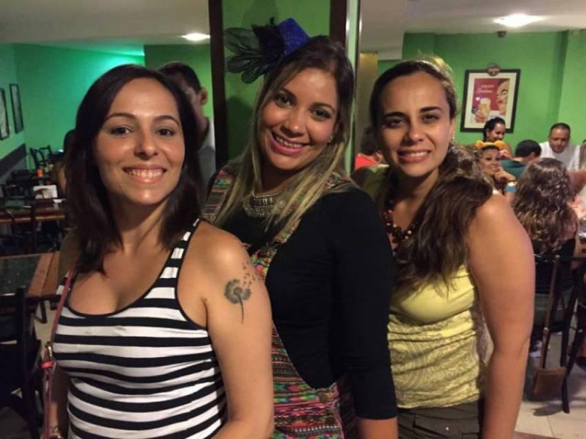 CAROL (Esposa MrGoogle),  MARIL (Esposa ZERO) e  LUCIANA (Esposa AGATON)