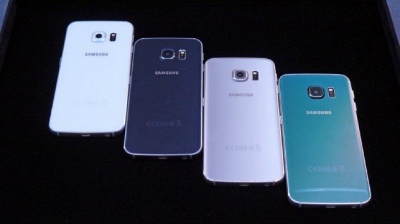 Imagem mostra painel traseiro do Galaxy S6 Edge