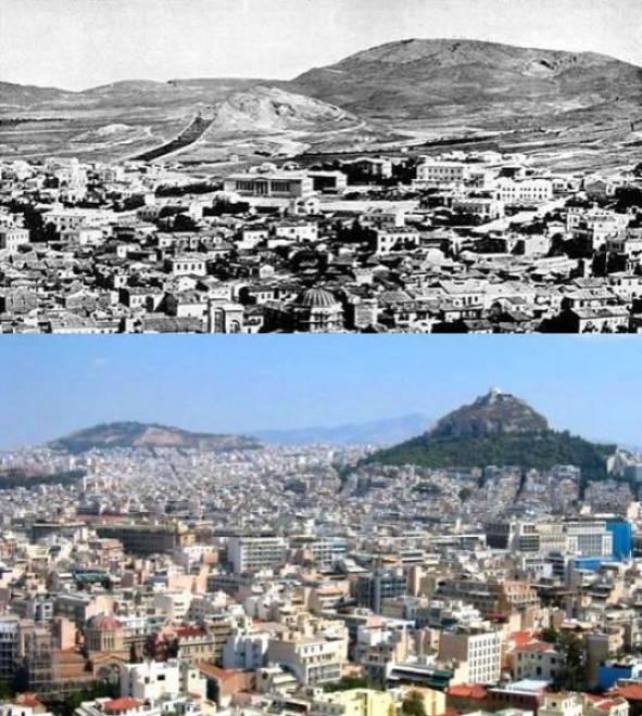 11. Atenas, Grécia 1860-2010