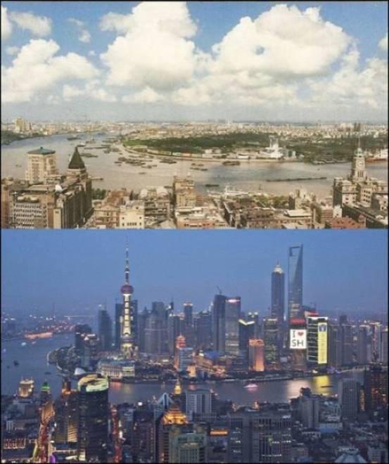 15. Shangai, China 1990-2014