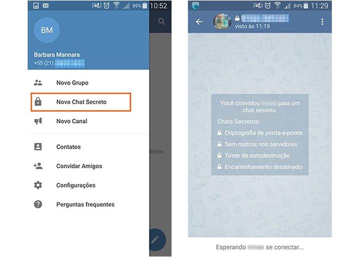 Telegram-chat-secreto