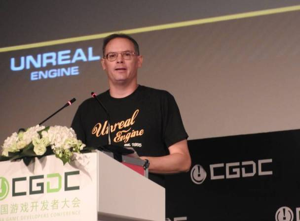 Tim Sweeney, o CEO da Epic Games