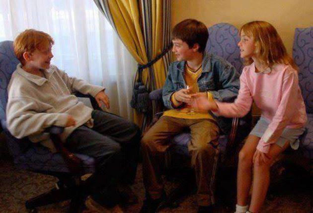 Primeiro encontro do elenco de Harry Potter