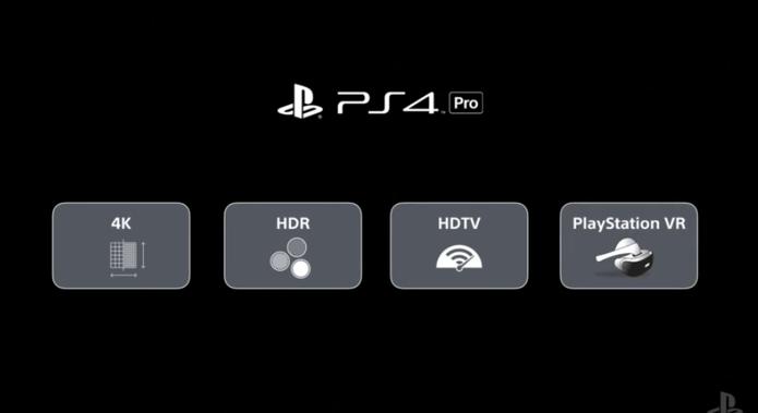PS4 Pro será compatível com conteúdo 4K HDR e realidade virtual (Foto Reprodução Sony)