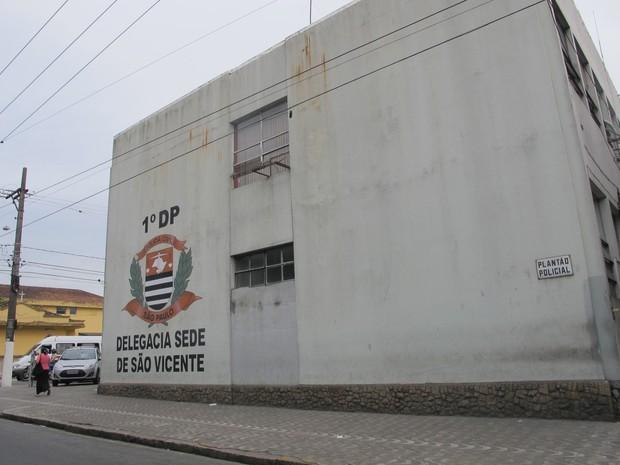 Caso será investigado pela Delegacia Sede de São Vicente (Foto: Jéssica Bitencourt / G1)