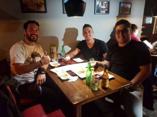 Encontro COBRASGRINGO, CRISTIANO e o amigo JOSTAH (1)