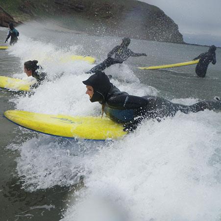 Clan Surf School Hen Party