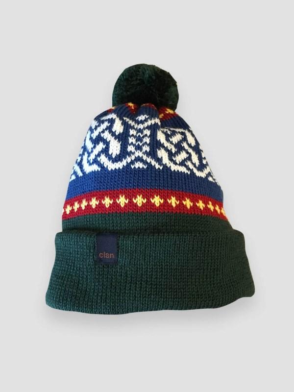 0d0baffe791 Clan Merino Wool Pompom Forest Beanie