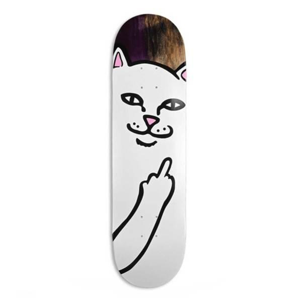 Rip n Dip Lord Nermal Skateboard Deck 8″
