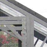 GRAND ENCLOS BOIS POUR LAPINS »MANSION RUN»-100% SAPIN DE FINLANDE