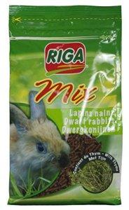 Riga Rigamix Nourriture pour Lapin Nains au Thym – Lot DE 4