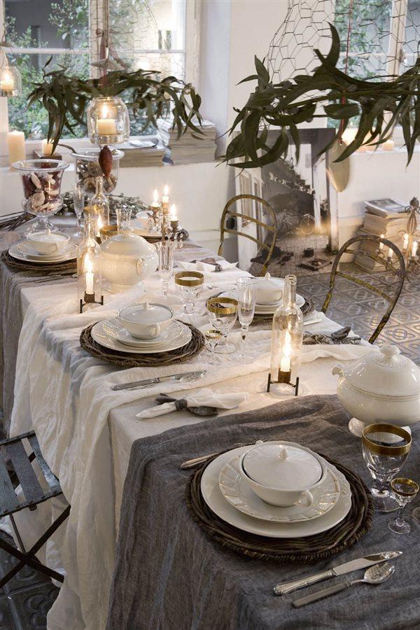 15 mesas de Navidad llenas de ideas para que decores t