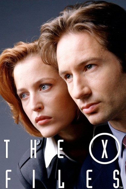 Gillian Anderson (left) and David Duchovny The X-Files