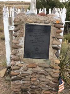Colonel Pfeiffer's gravesite
