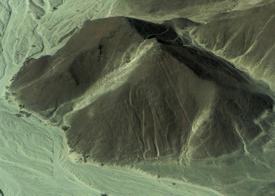 Ancient Alien in Peruvian Hill
