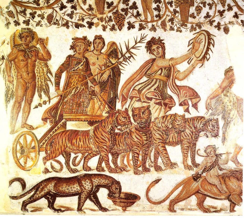 Triumphal cortege of Dionysus (Museum of Sousse)