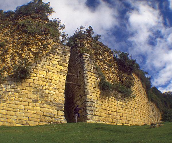 Kuelap Wall