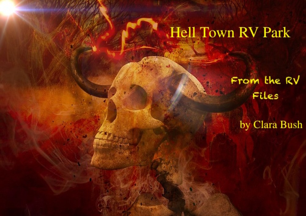 hell town skull