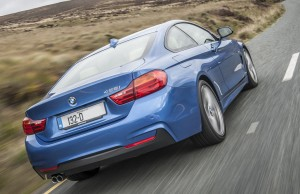 BMW's 428i coupé is fitted with a twin turbo 2.0 litre engine.