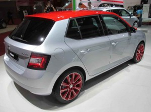 The new Skoda Fabia has a sharper look both inside and out.