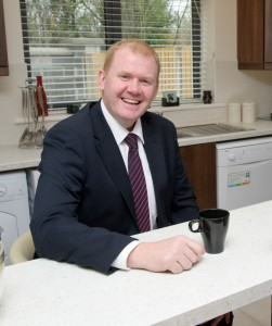 Minister Paudie Coffey  said the new social housing stratey will address housing waiting lists in Clare. Photograph by John Kelly..