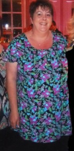 Niamh McMahon before her major weight loss.