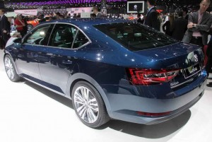 The Skoda Superb has a sleek new look.