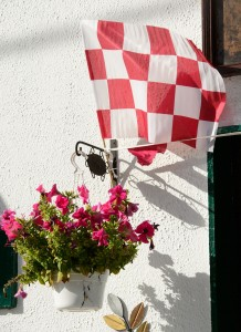 Galway colours on display in Gort.