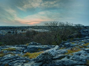 Winter solstice in the Burren. Photograph by Carsten Krieger.