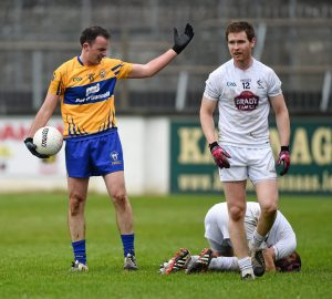 David Tubridy at the incident during the game against Kildare. Pjptpgraph by Stephen McCarthy / SPORTSFILE