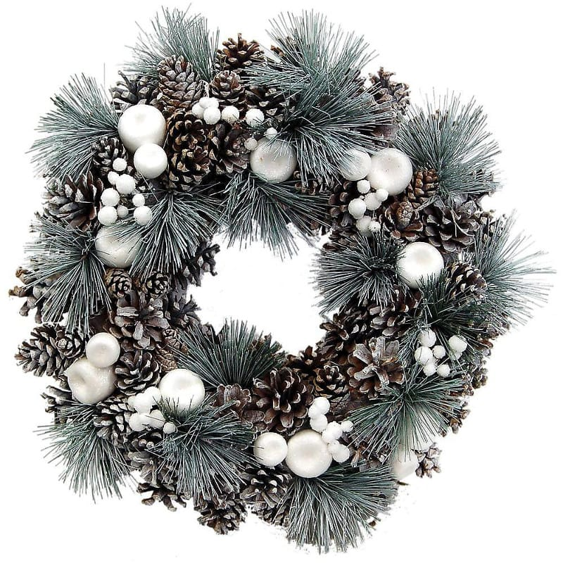Let It Snow Christmas Wreath Free Delivery