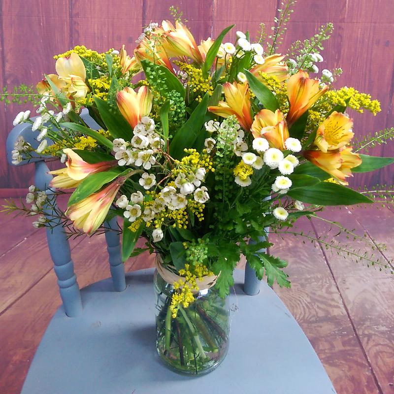 Send Spring Dream Bouquet - UK Next Day Delivery by Clare Florist