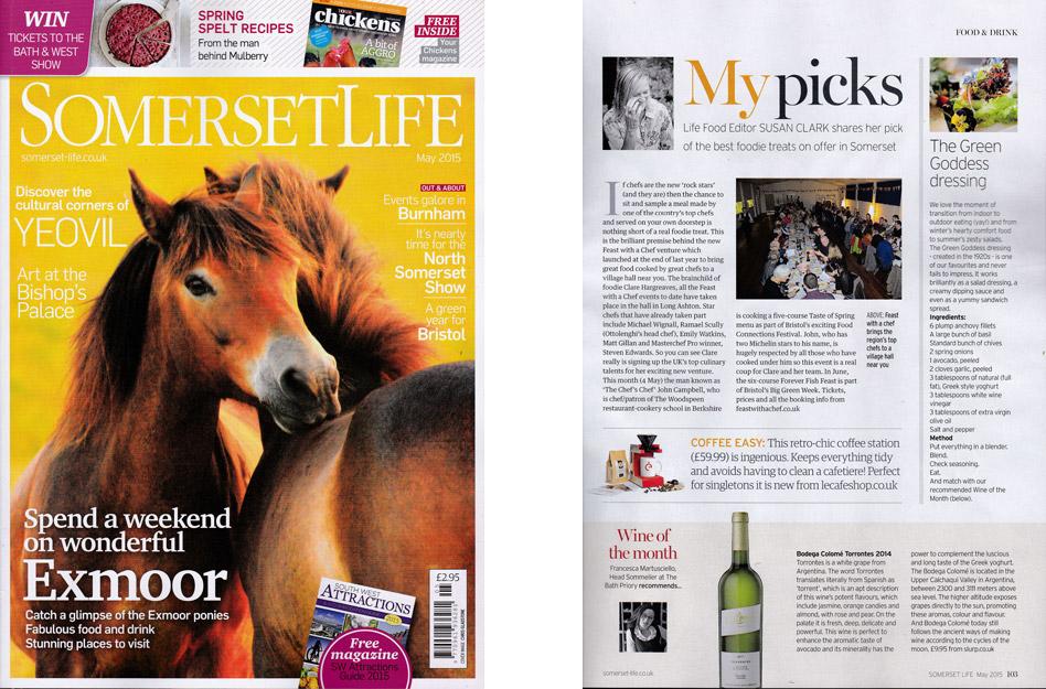 Somerset Life - May 2015