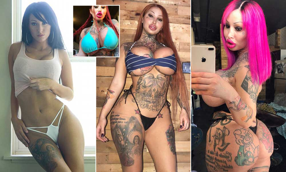 She spends $115k to look like a sex doll