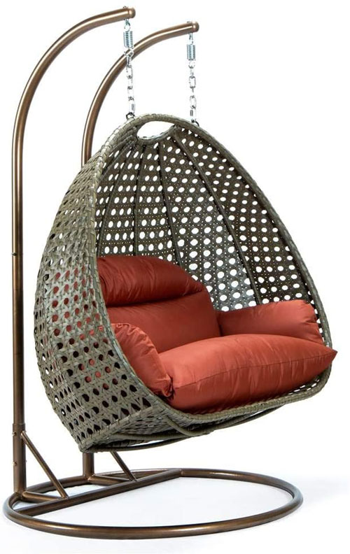 Hanging Double Egg Swing Chair