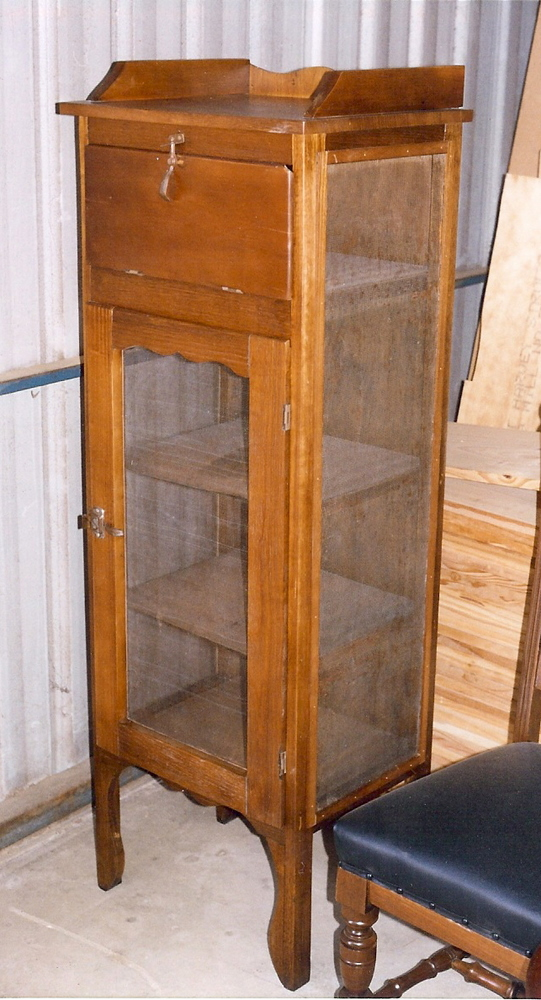 Old meat safe 9  Clarelle Furniture Restoration