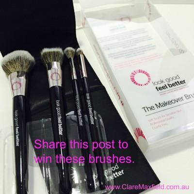 Look Good Feel Better -Make-up Brush Set