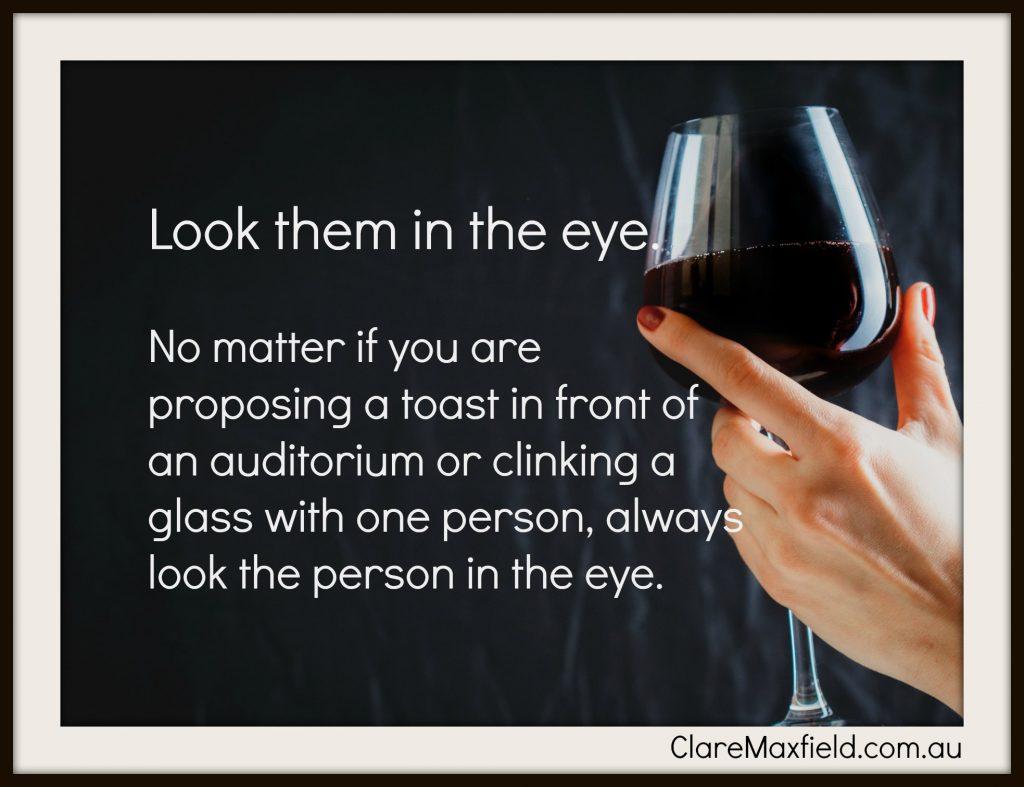 toast eye