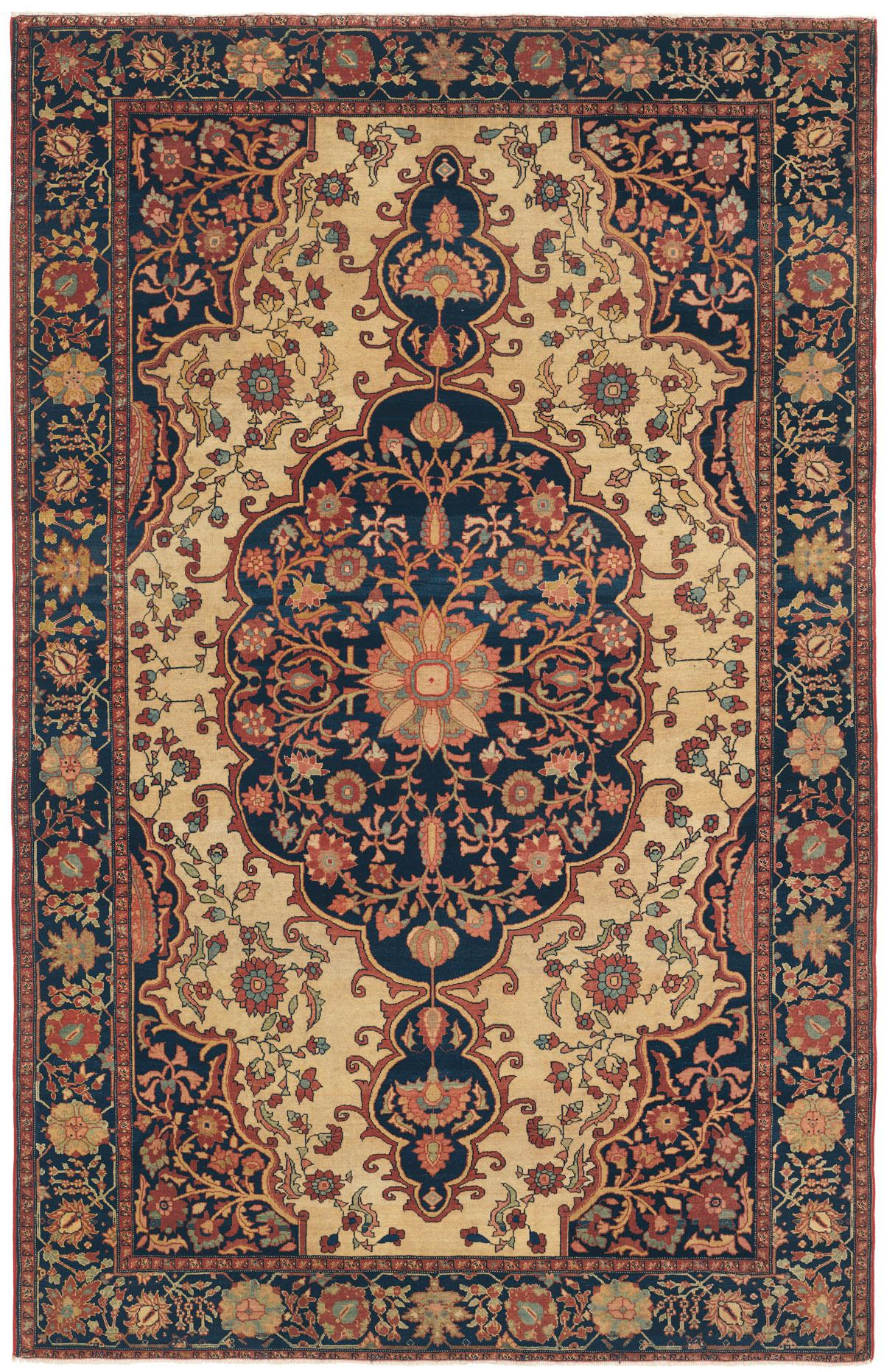 FERAHAN SAROUK West Central Persian Antique Rug  Claremont Rug Company
