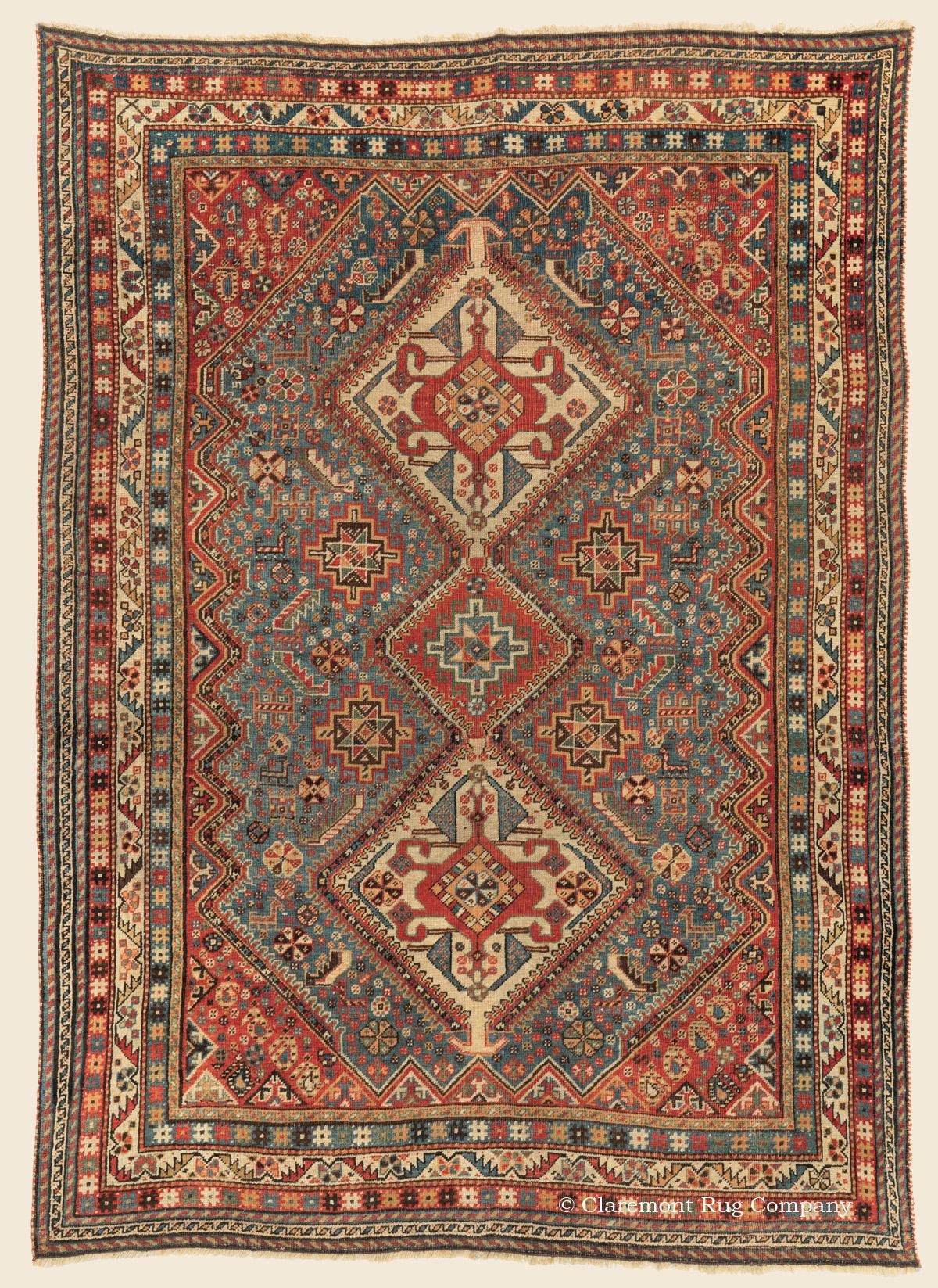 QASHQAI SHISHBOLUKI Southern Persian Antique Rug