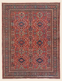 MAHAL, West Central Persian Antique Rug - Claremont Rug ...