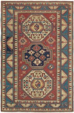 Antique Carpet - Caucasian Collectible Oriental Carpet