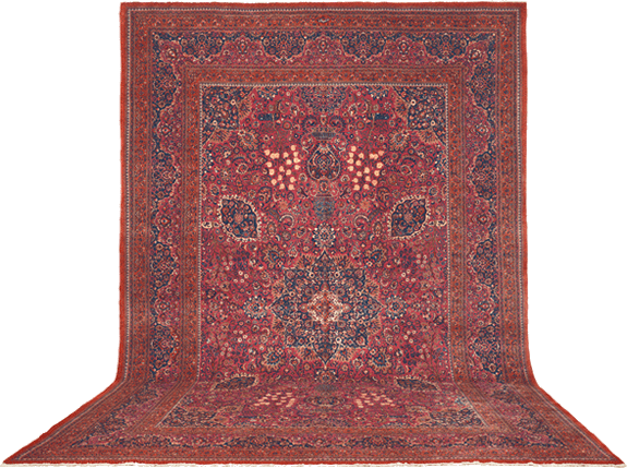Antique Oriental Rugs - Persian Meshed - Claremont Rug Company