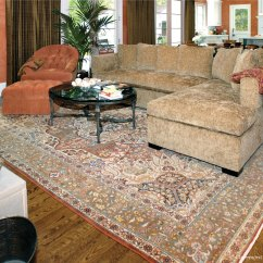 Traditional Living Rooms With Oriental Rugs Paint Colors For Room 2016 Antique Persian Tabriz Carpet Enhances Striking