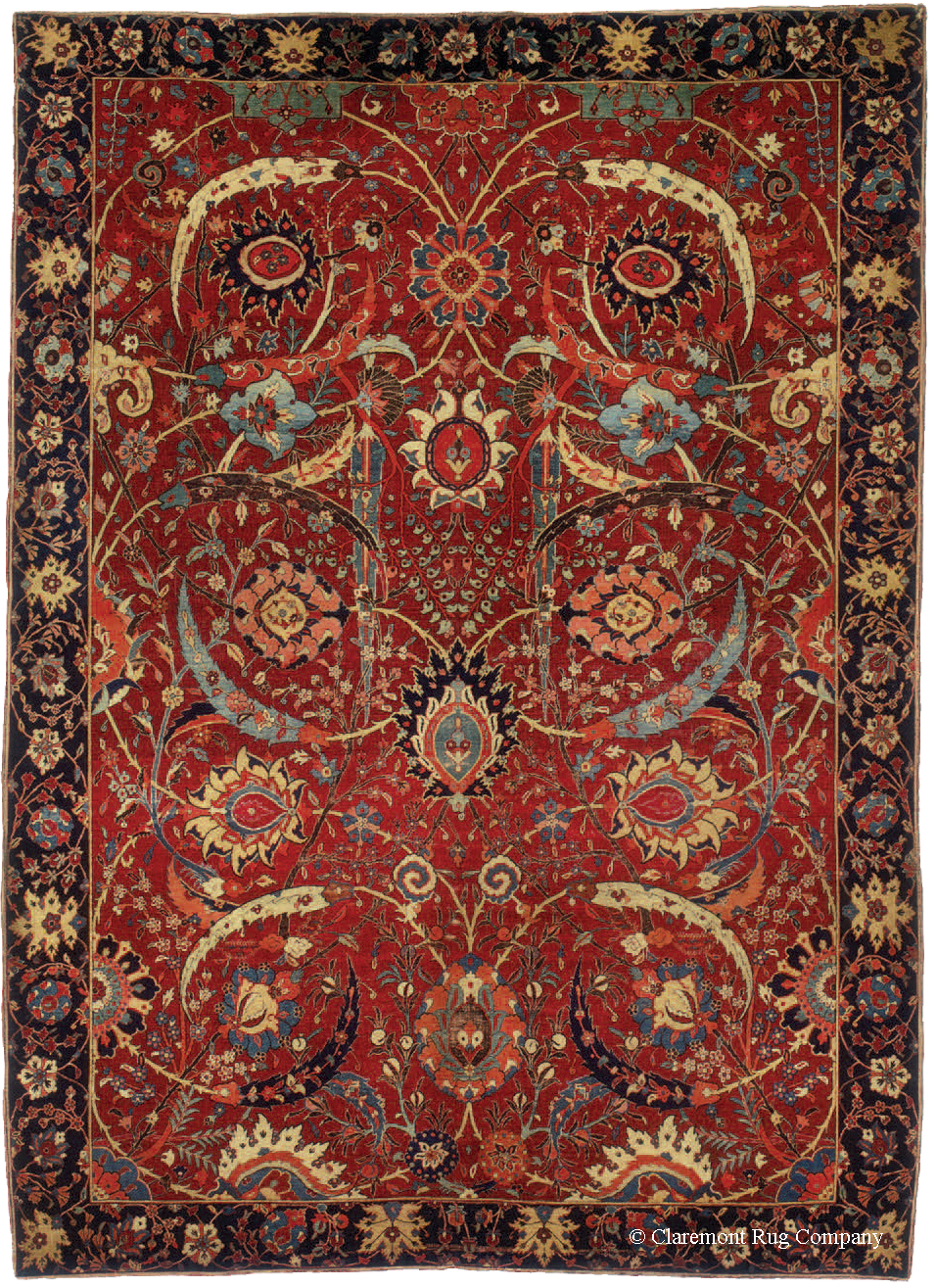 The Rug Pyramid Understanding Antique Persian Rugs