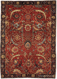 The Rug Pyramid: Understanding Antique Persian Rugs